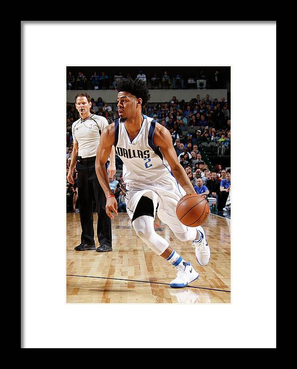 Nba Pro Basketball Framed Print featuring the photograph Quinn Cook by Danny Bollinger