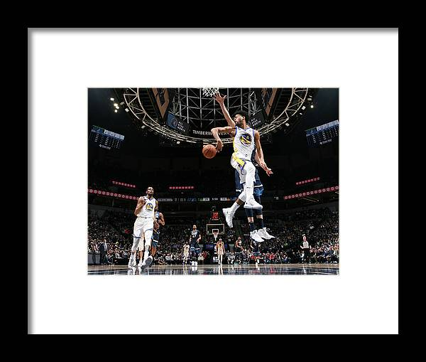 Nba Pro Basketball Framed Print featuring the photograph Quinn Cook by David Sherman