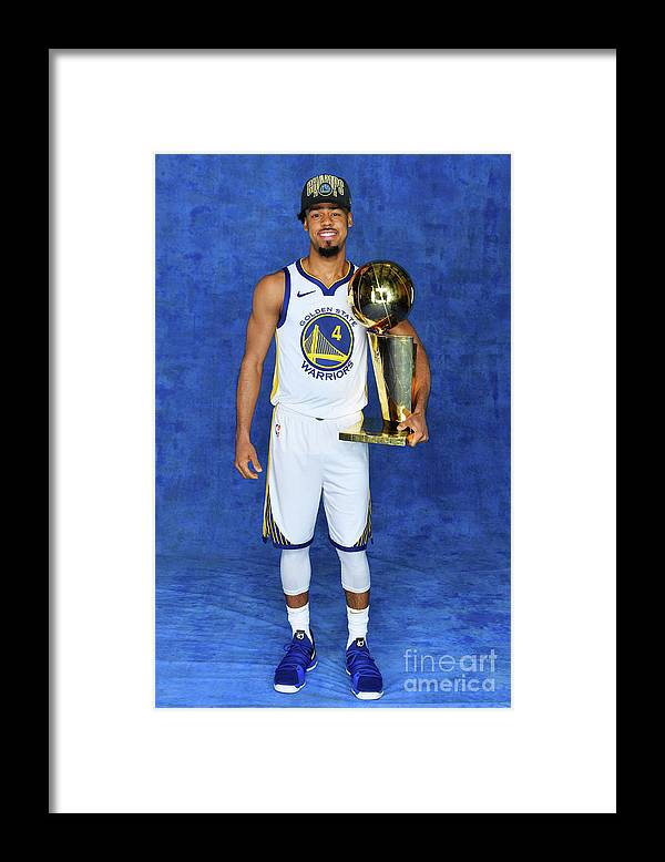 Playoffs Framed Print featuring the photograph Quinn Cook by Jesse D. Garrabrant