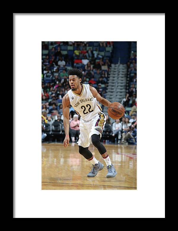 Smoothie King Center Framed Print featuring the photograph Quinn Cook by Layne Murdoch Jr.