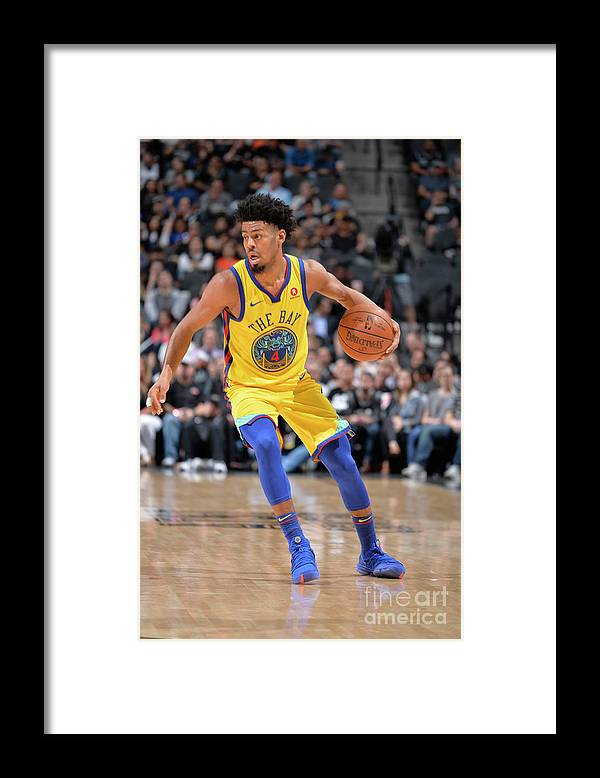 Sports Ball Framed Print featuring the photograph Quinn Cook by Mark Sobhani
