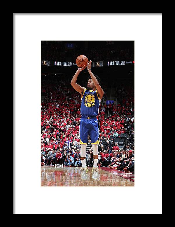 Playoffs Framed Print featuring the photograph Quinn Cook by Nathaniel S. Butler
