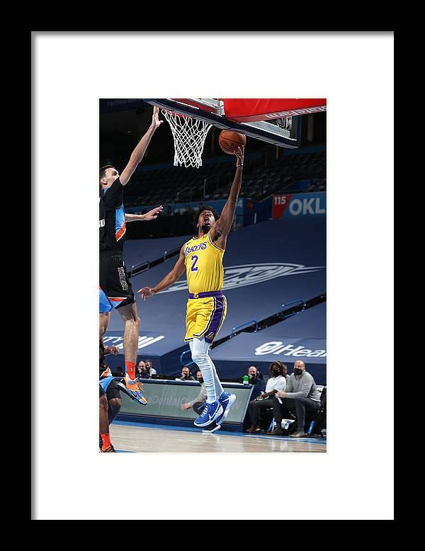 Nba Pro Basketball Framed Print featuring the photograph Quinn Cook by Zach Beeker