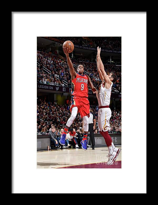 Sports Ball Framed Print featuring the photograph Rajon Rondo by David Liam Kyle