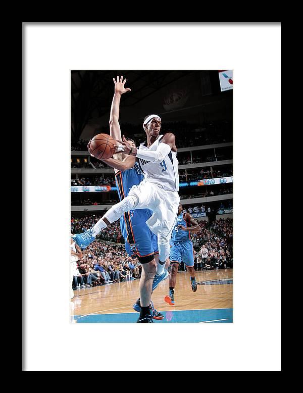 Nba Pro Basketball Framed Print featuring the photograph Rajon Rondo by Glenn James