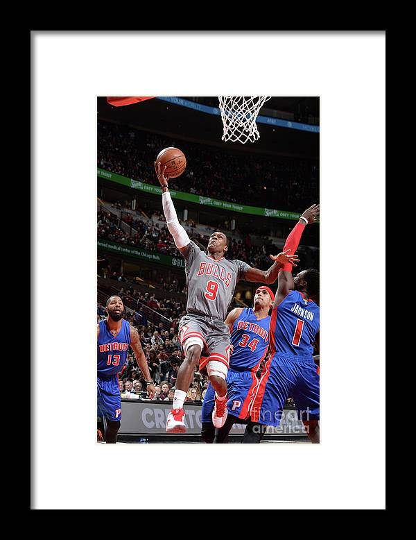 Nba Pro Basketball Framed Print featuring the photograph Rajon Rondo by Randy Belice