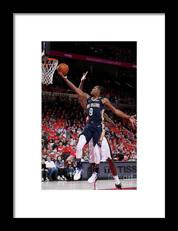 Playoffs Framed Print featuring the photograph Rajon Rondo by Sam Forencich