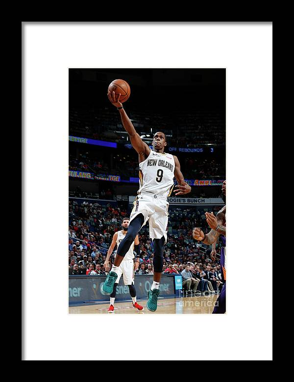 Smoothie King Center Framed Print featuring the photograph Rajon Rondo by Tyler Kaufman