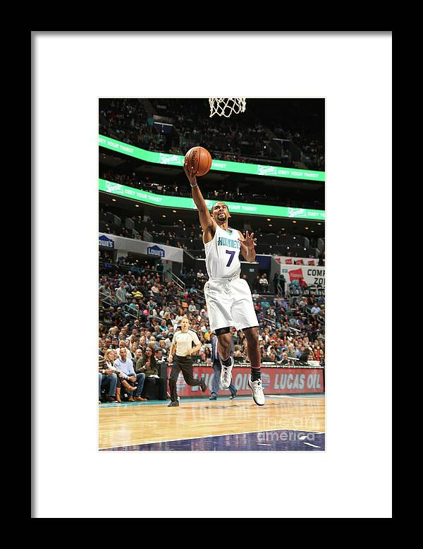 Nba Pro Basketball Framed Print featuring the photograph Ramon Sessions by Kent Smith