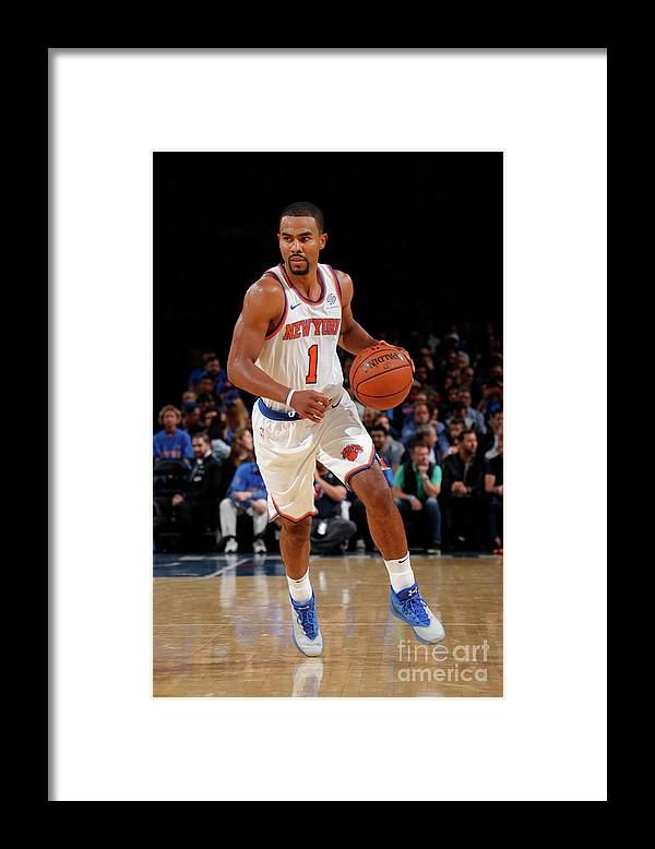 Nba Pro Basketball Framed Print featuring the photograph Ramon Sessions by Nathaniel S. Butler
