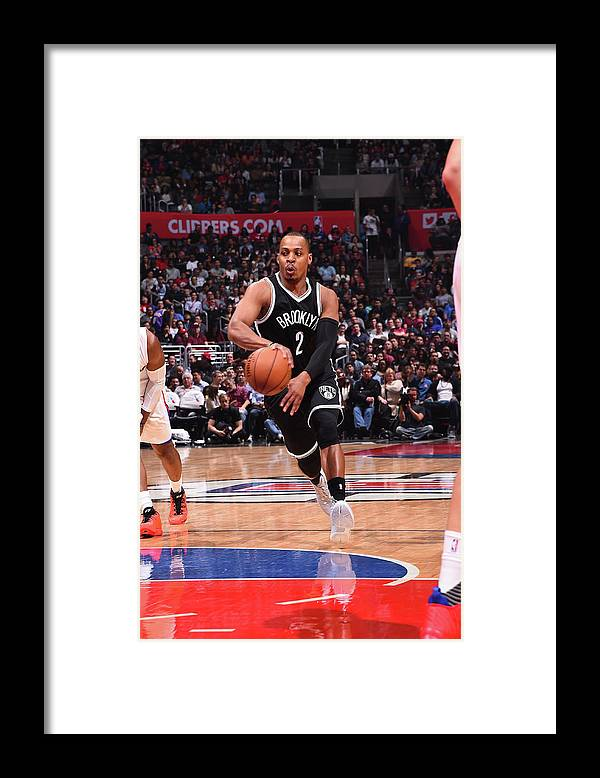 Nba Pro Basketball Framed Print featuring the photograph Randy Foye by Andrew D. Bernstein
