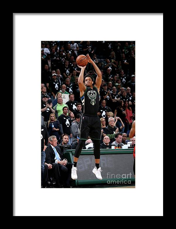 Playoffs Framed Print featuring the photograph Rashad Vaughn by Gary Dineen