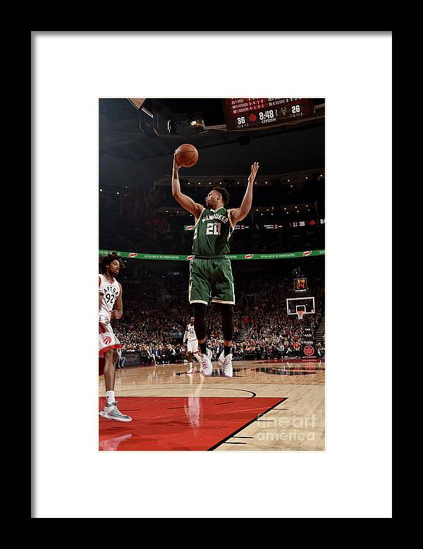 Nba Pro Basketball Framed Print featuring the photograph Rashad Vaughn by Ron Turenne