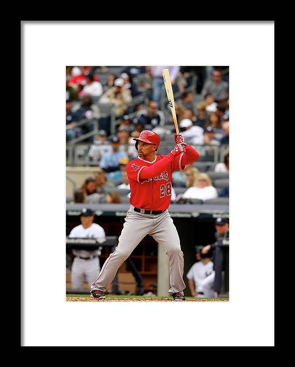 American League Baseball Framed Print featuring the photograph Raul Ibanez by Elsa