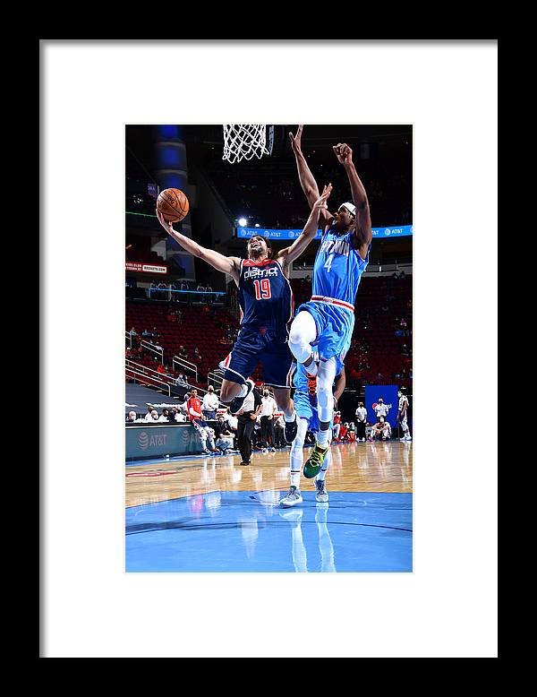 Nba Pro Basketball Framed Print featuring the photograph Raul Neto by Cato Cataldo
