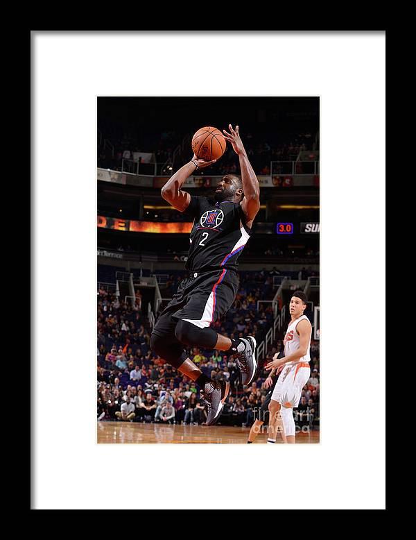 Nba Pro Basketball Framed Print featuring the photograph Raymond Felton by Barry Gossage