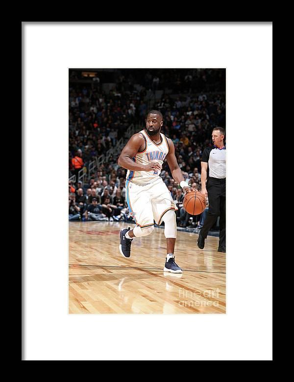 Nba Pro Basketball Framed Print featuring the photograph Raymond Felton by David Sherman