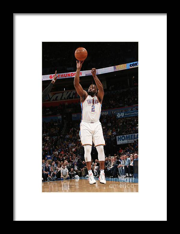 Nba Pro Basketball Framed Print featuring the photograph Raymond Felton by Layne Murdoch