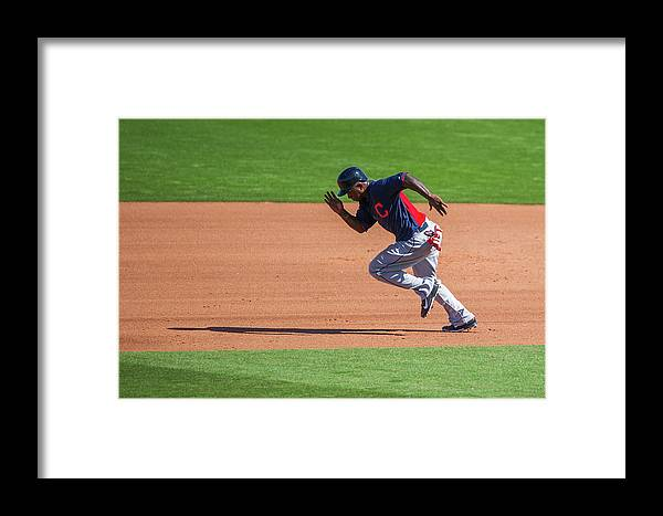 Cleveland Indians Framed Print featuring the photograph Red Morgan by Rob Tringali