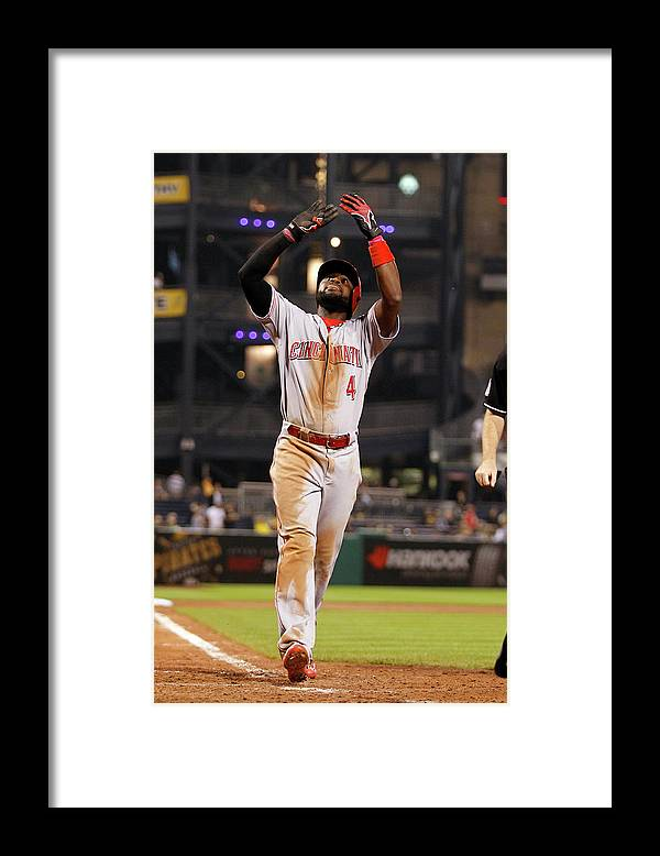 People Framed Print featuring the photograph Red Phillips by Justin K. Aller