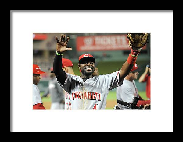 Celebration Framed Print featuring the photograph Red Phillips by Mitchell Layton