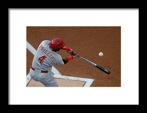 Three Quarter Length Framed Print featuring the photograph Red Phillips by Rob Carr