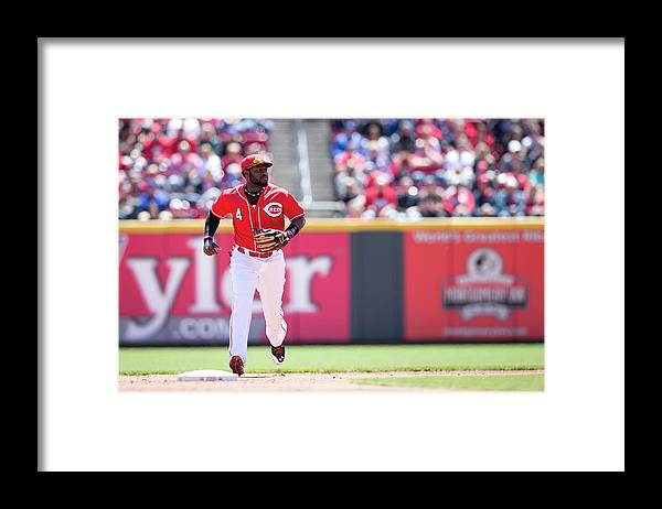 Great American Ball Park Framed Print featuring the photograph Red Phillips by Taylor Baucom