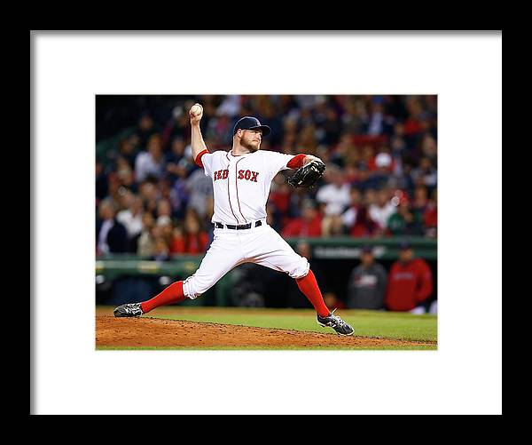 American League Baseball Framed Print featuring the photograph Red Wilson by Jared Wickerham
