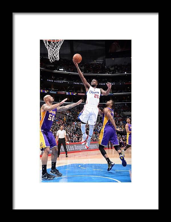 Nba Pro Basketball Framed Print featuring the photograph Reggie Bullock by Andrew D. Bernstein