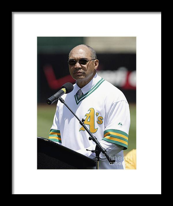 American League Baseball Framed Print featuring the photograph Reggie Jackson by Don Smith