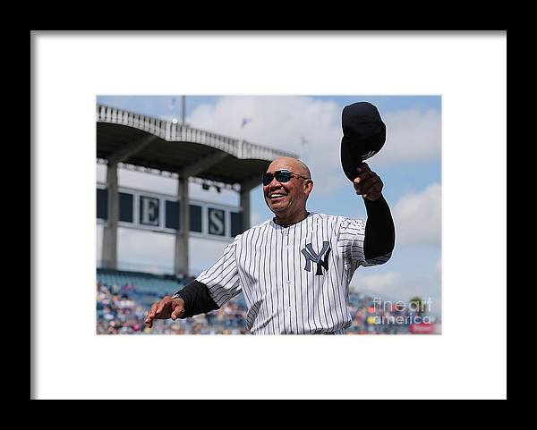 Crowd Framed Print featuring the photograph Reggie Jackson by Leon Halip