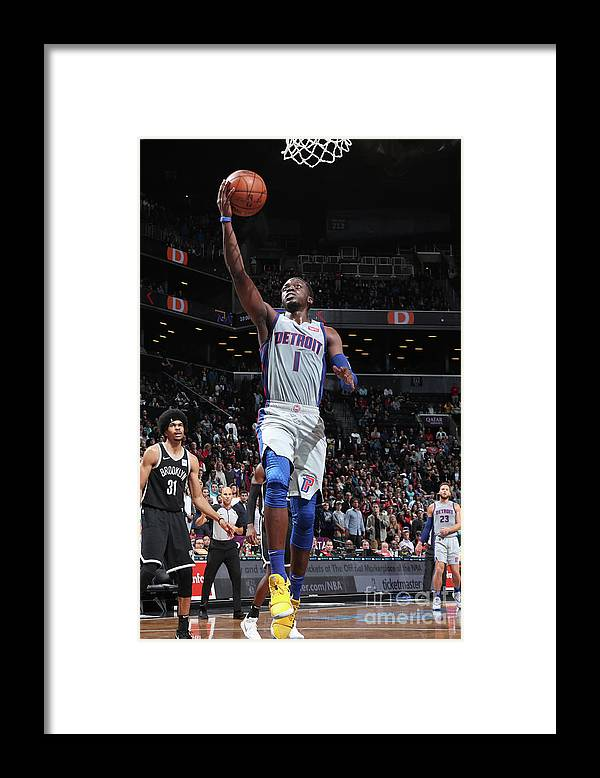 Nba Pro Basketball Framed Print featuring the photograph Reggie Jackson by Nathaniel S. Butler