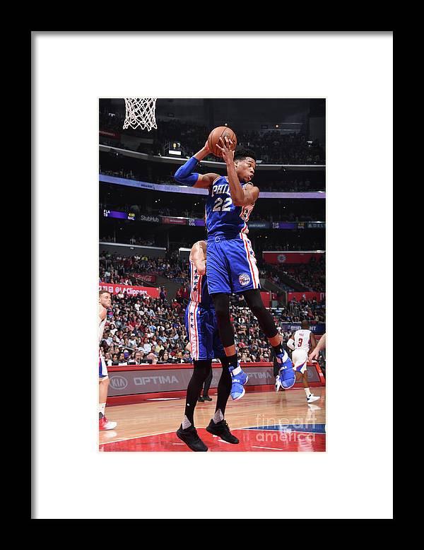 Nba Pro Basketball Framed Print featuring the photograph Richaun Holmes by Andrew D. Bernstein