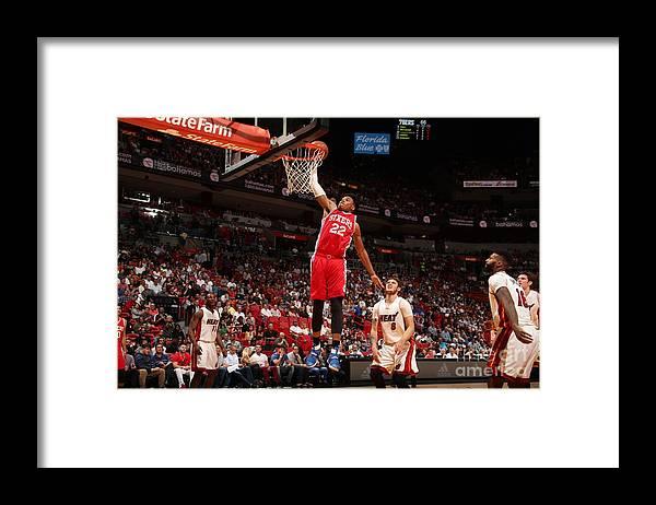 Nba Pro Basketball Framed Print featuring the photograph Richaun Holmes by Issac Baldizon