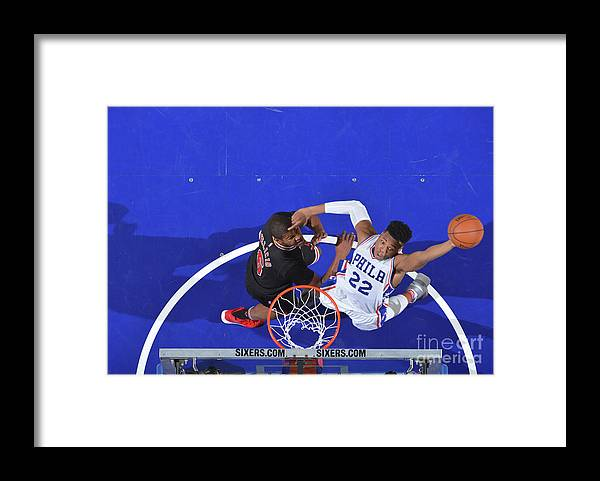 Nba Pro Basketball Framed Print featuring the photograph Richaun Holmes by Jesse D. Garrabrant