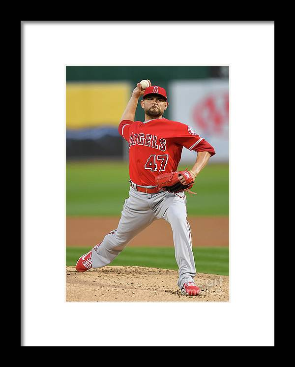 People Framed Print featuring the photograph Ricky Nolasco by Thearon W. Henderson
