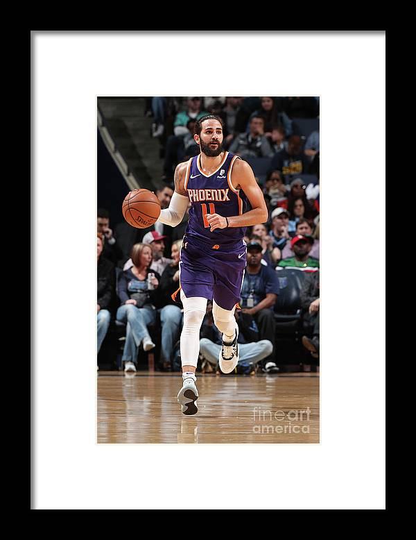 Nba Pro Basketball Framed Print featuring the photograph Ricky Rubio by Joe Murphy