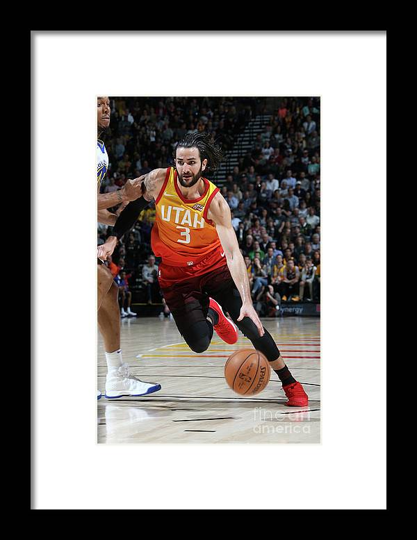 Nba Pro Basketball Framed Print featuring the photograph Ricky Rubio by Melissa Majchrzak