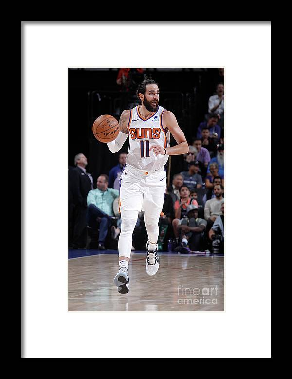 Nba Pro Basketball Framed Print featuring the photograph Ricky Rubio by Rocky Widner