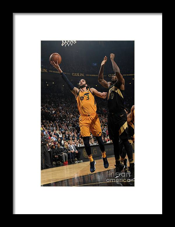 Nba Pro Basketball Framed Print featuring the photograph Ricky Rubio by Ron Turenne