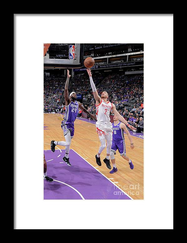 Nba Pro Basketball Framed Print featuring the photograph R.j. Hunter by Rocky Widner