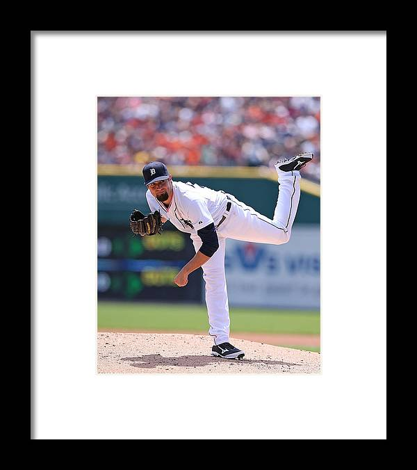 American League Baseball Framed Print featuring the photograph Robbie Ray by Leon Halip