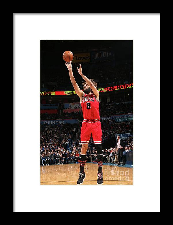Nba Pro Basketball Framed Print featuring the photograph Robin Lopez by Layne Murdoch