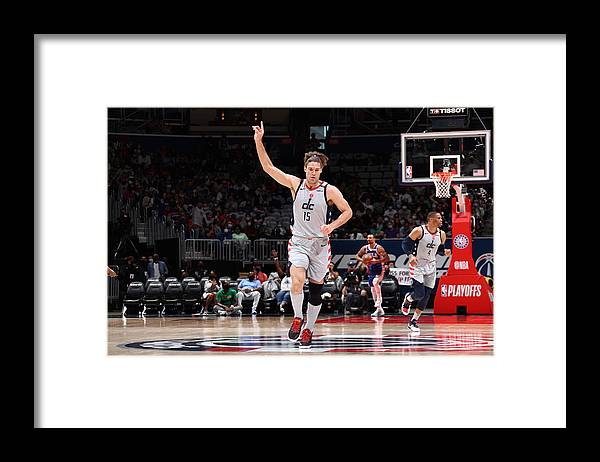 Playoffs Framed Print featuring the photograph Robin Lopez by Stephen Gosling