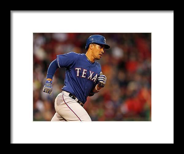 American League Baseball Framed Print featuring the photograph Robinson Chirinos by Jim Rogash