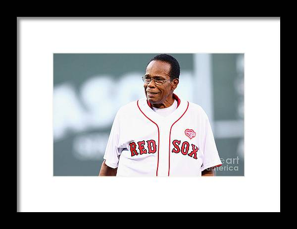 People Framed Print featuring the photograph Rod Carew by Maddie Meyer