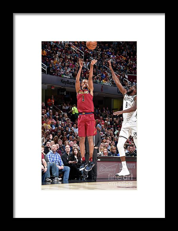 Nba Pro Basketball Framed Print featuring the photograph Rodney Hood by David Liam Kyle
