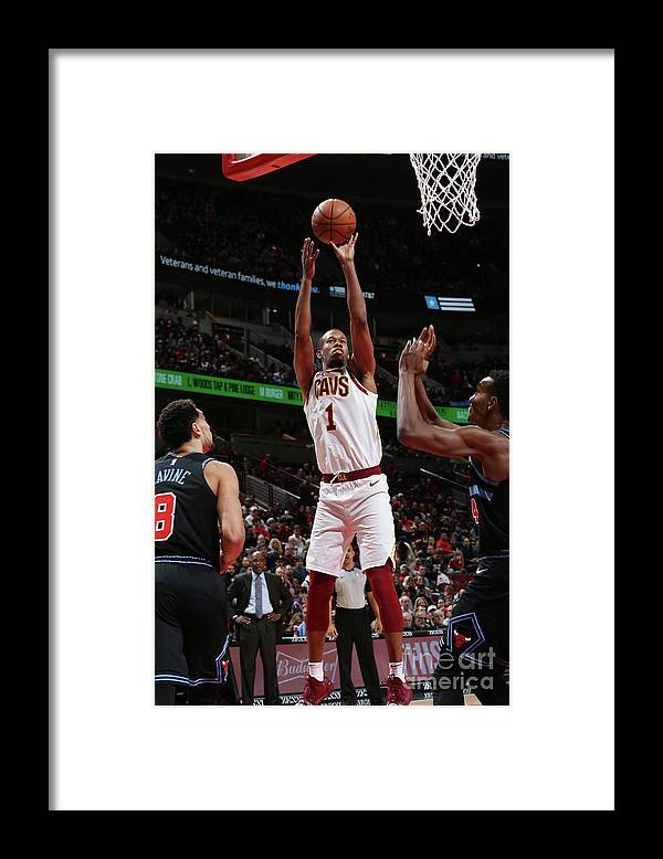 Nba Pro Basketball Framed Print featuring the photograph Rodney Hood by Gary Dineen