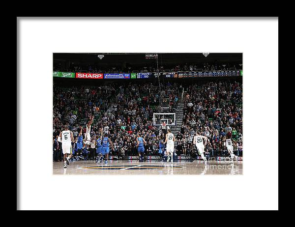 Nba Pro Basketball Framed Print featuring the photograph Rodney Hood by Melissa Majchrzak