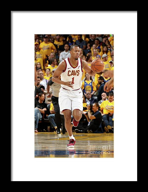 Playoffs Framed Print featuring the photograph Rodney Hood by Nathaniel S. Butler